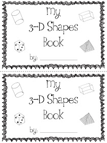 Mrs. Prince and Co.: 3-D Shapes Book!